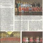 """Οι Ελληνίδες της ομάδος """"Κυκλάδες"""" κέρδισαν δύο βραβεία χορού στον Διεθνή Διαγωνισμό στην Αγία Πετρούπολη"""