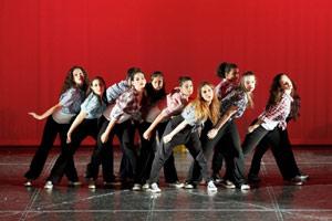 Μαθήτριες της τάξης του Hip - Hop